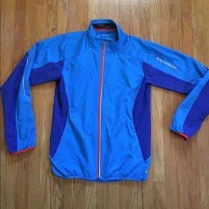 Salomon lightweight running jacket